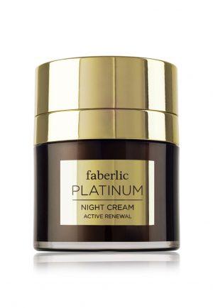 Восстанавливающий ночной крем Platinum