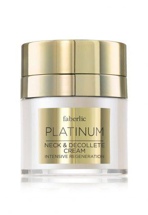 Роскошный крем для шеи и декольте Platinum
