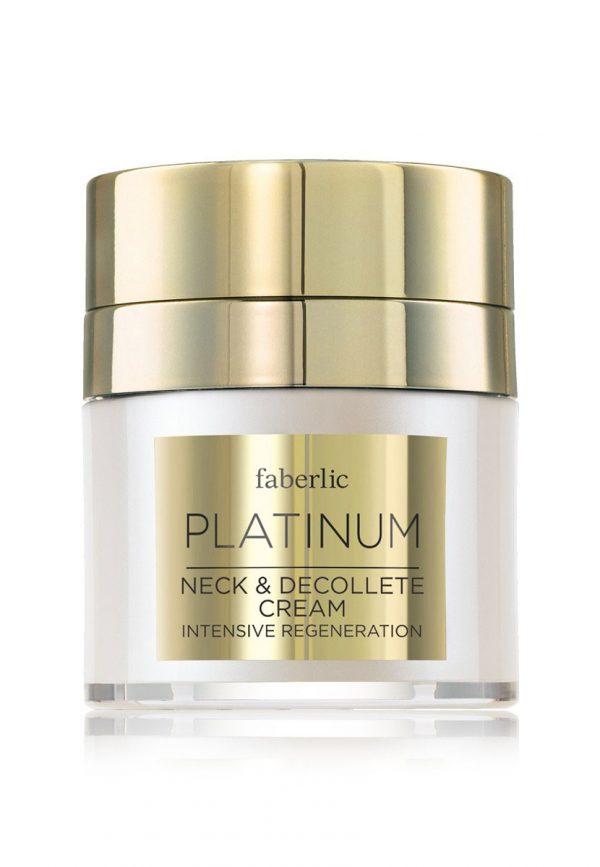 Роскошный крем для шеи и декольте Platinum Фаберлик 0319