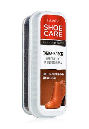 Губка-блеск для гладкой кожи бесцветная Shoe Care