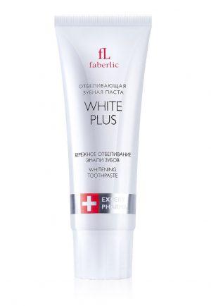 Отбеливающая зубная паста White Plus