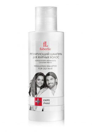 Регулирующий шампунь для жирных волос Expert Pharma