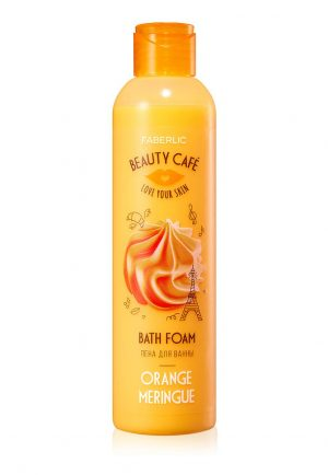 Пена для ванны Апельсиновая меренга
