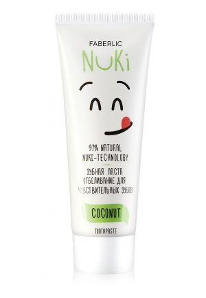 Зубная паста Отбеливание для чувствительных зубов Nuki