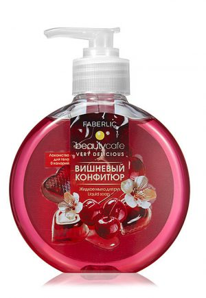 Жидкое мыло для рук Вишнёвый конфитюр