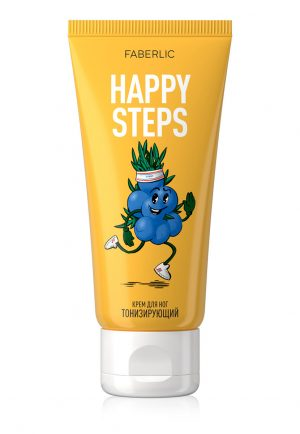 Крем для ног Тонизирующий Happy Steps