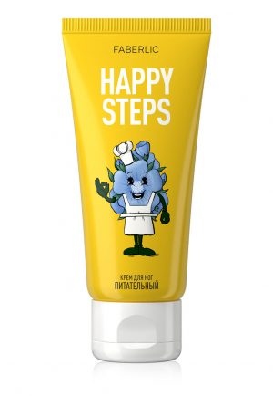 Крем для ног Питательный Happy Steps