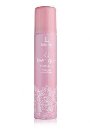 Парфюмированный дезодорант спрей для женщин O Feerique Sensuelle