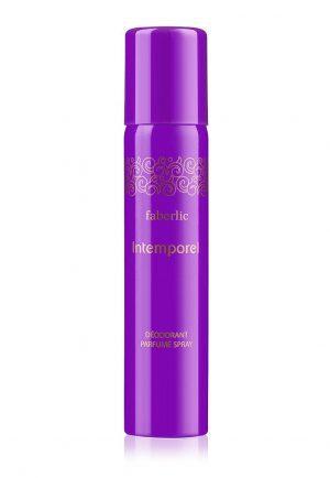 Парфюмированный дезодорант спрей для женщин Intemporel