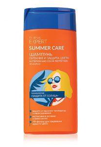 Шампунь Питание и защита цвета Summer Care