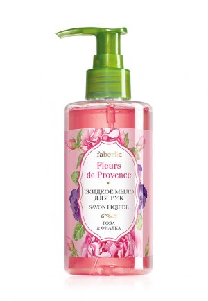 Жидкое мыло для рук Роза и фиалка
