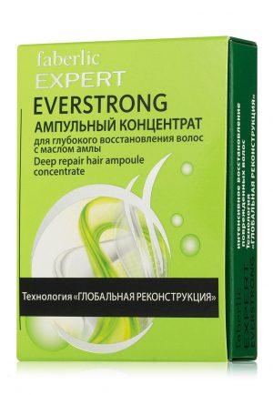 Ампульный концентрат для глубокого восстановления волос Everstrong