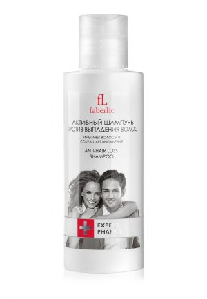 Активный шампунь против выпадения волос Expert Pharma