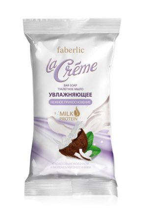 Туалетное мыло увлажняющее Нежное прикосновение La Creme