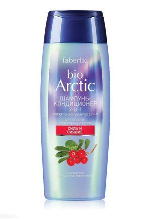 Шампунь кондиционер 2 в 1 для тусклых, ослабленных волос Bio Arctic