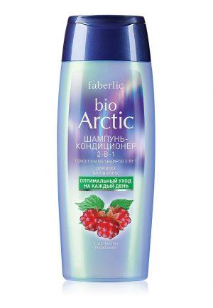 Шампунь кондиционер 2 в 1 для всех типов волос Bio Arctic