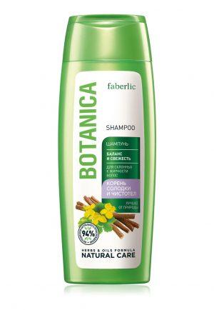 Шампунь Баланс и свежесть Botanica