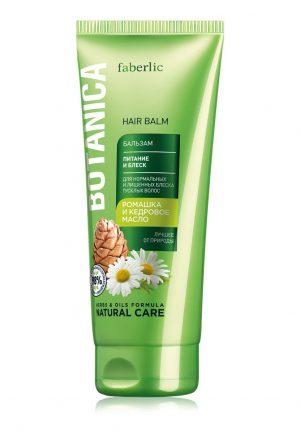 Бальзам для волос Питание и блеск Botanica